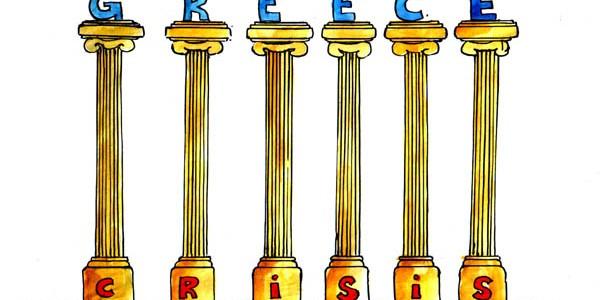 Greece Financial Crisis Cartoon